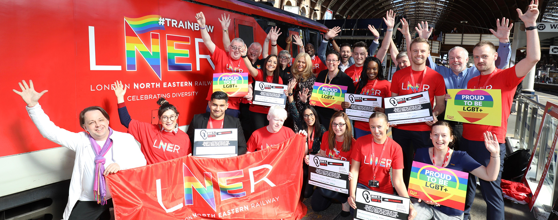 York Pride join LNER to celebrate Pride!